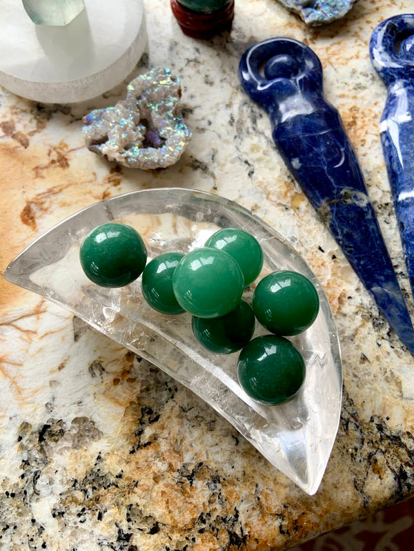 GREEN AVENTURINE Mini Spheres