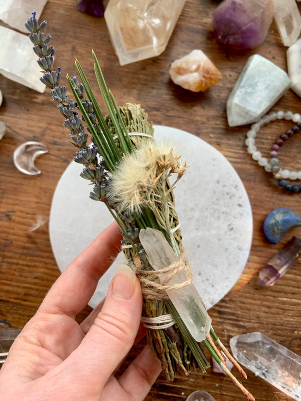 Wild Mountain Crystal Smudge Bundle