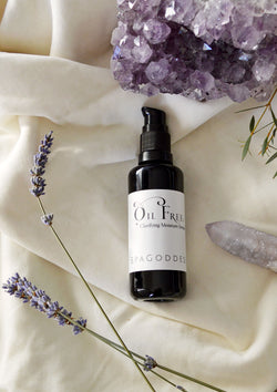 Oil-Free Clarifying Serum, Organic Face Serum w/ Lavender, Hyaluronic Acid + Green Tea