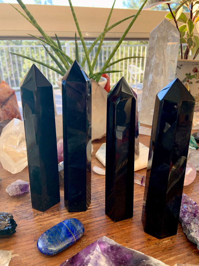 BLACK OBSIDIAN TOWER