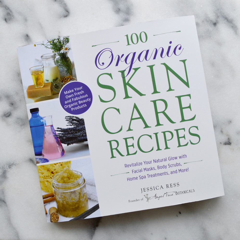 100 Organic Skincare Recipes Book