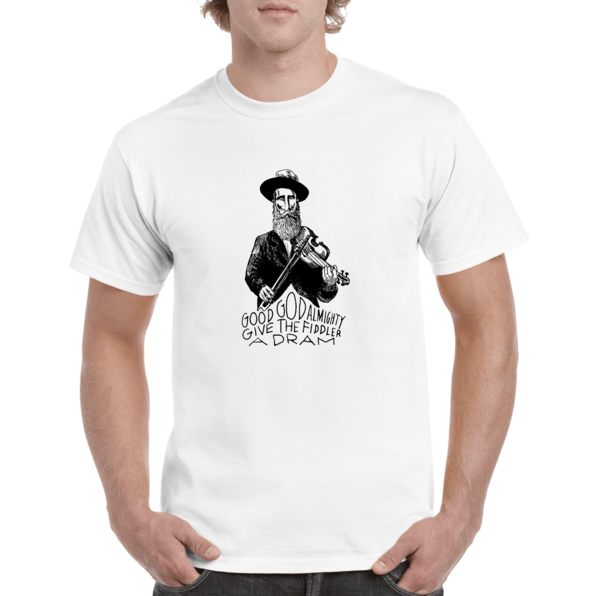Fiddler T-Shirt - Unisex White