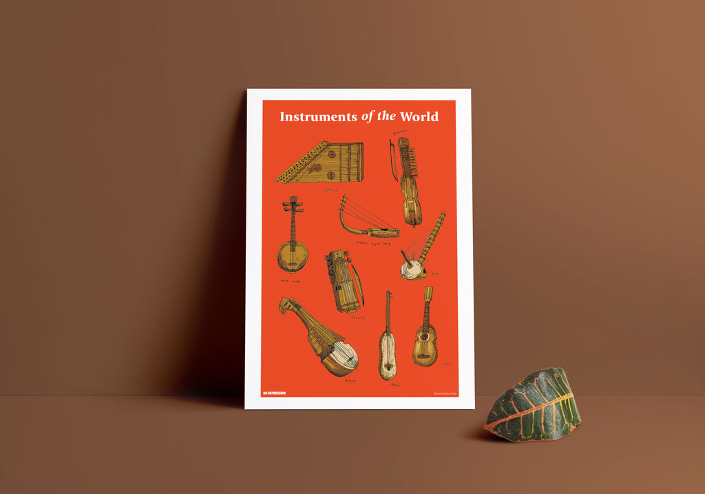 Instruments of the World Print