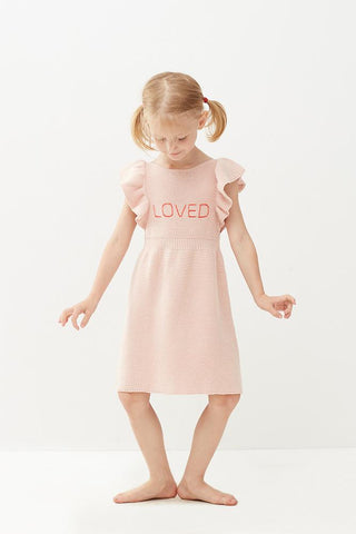 Oeuf Pink Love Dress