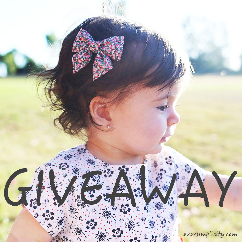 Giveaway for baby and kids-Ever Simplicity