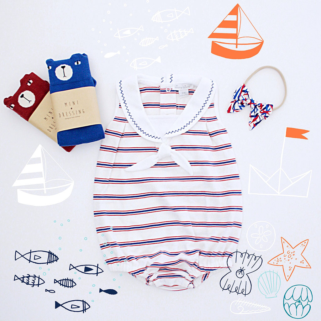 Ever Style Baby Sailor Outfit-Ever Simplicity