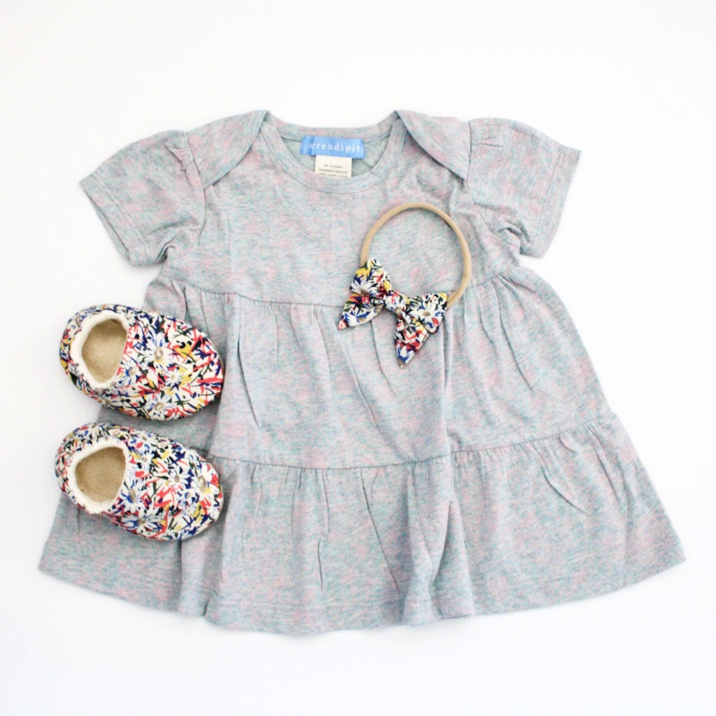 Organic Baby Girl Dress Outfit-Ever Simplicity