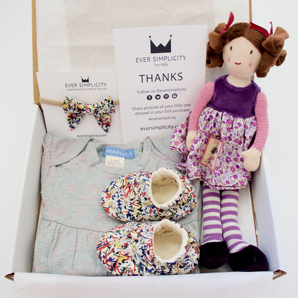 Organic Baby Girl Gift Sets-Ever Simplicity