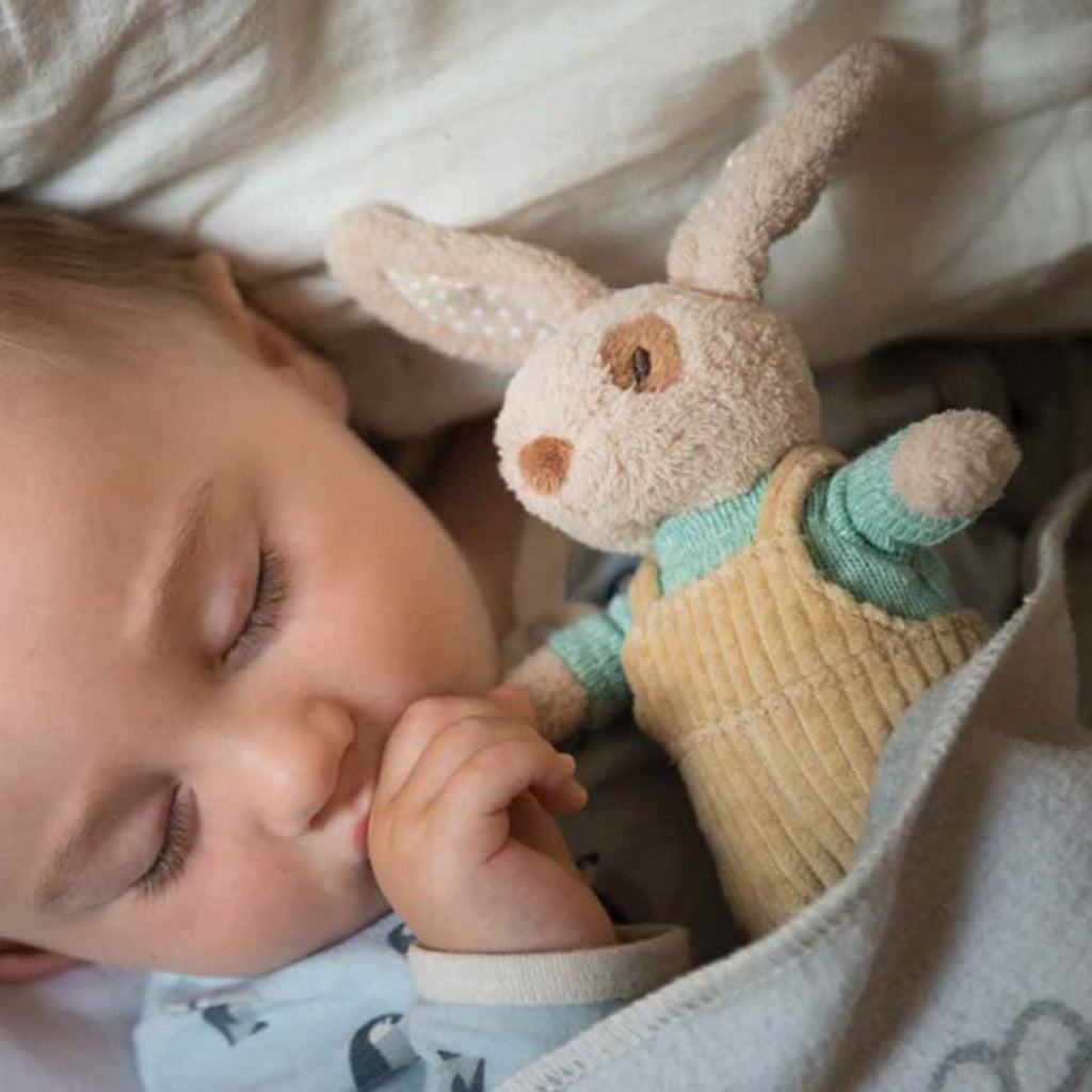 Ragtales Baby boy rabbit rattle-Ever Simplicity