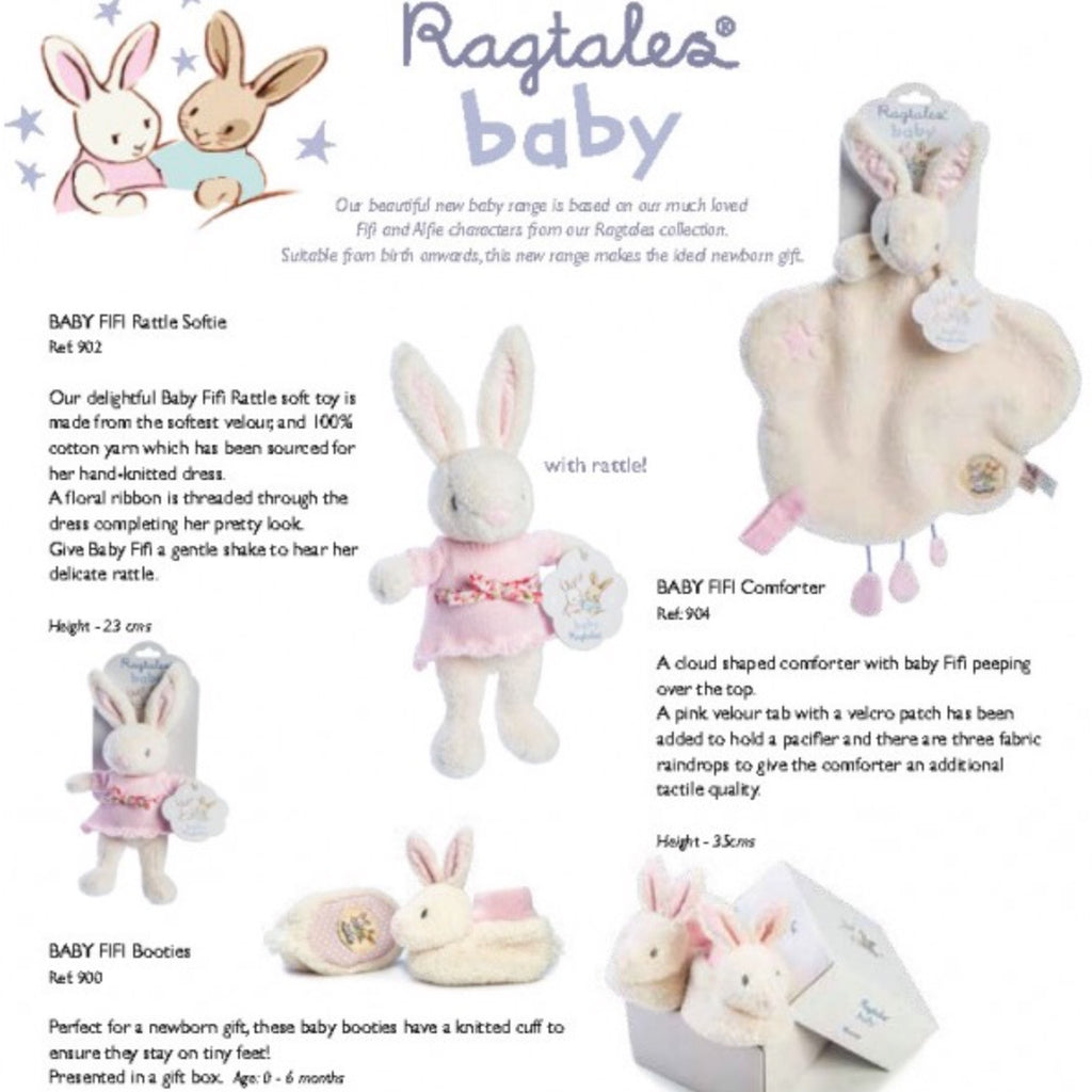 Ragtales Baby girl rabbit bunny doll set-Ever Simplicity