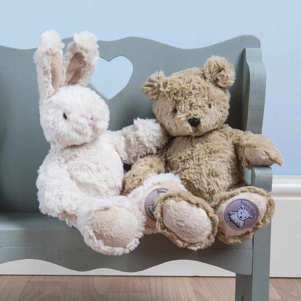 Ragtales Baby teddy bear rabbit doll-Ever Simplicity