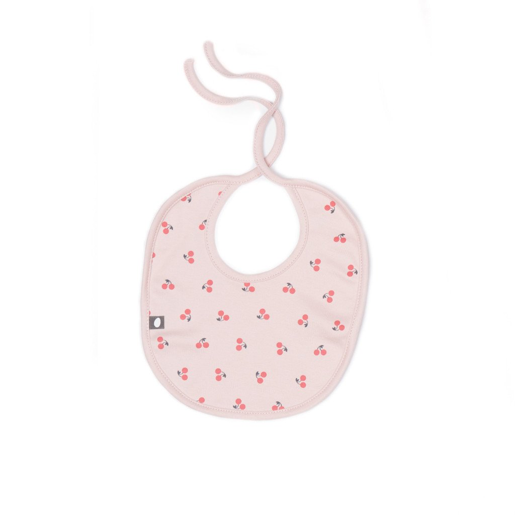 Oeuf baby cherry bib set -Ever Simplicity
