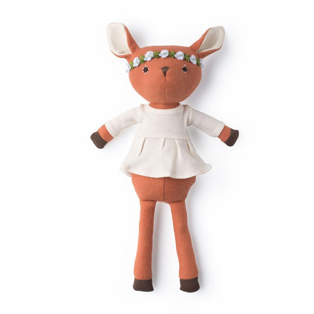 Hazel Village Kids toy PHOEBE FAWN with Crown - Ever Simplicity