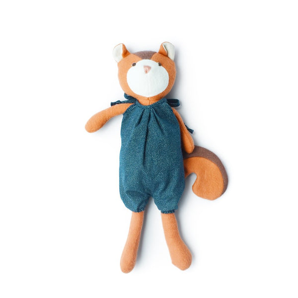 Hazel Village Kids toy Josie Chipmunk in Indigo Sunsuit - Ever Simplicity