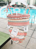 Oeuf Kids sets Bikini-White/Multi Stripes - Ever Simplicity
