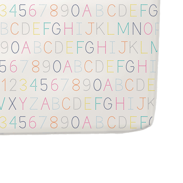 Petit Pehr Kids accessories Alphabet Crib Sheet - Ever Simplicity