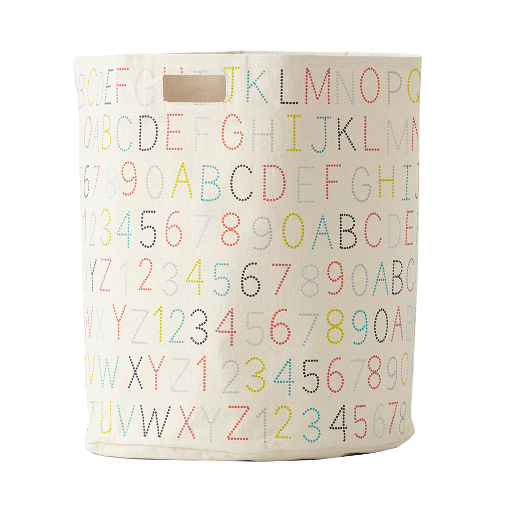 Petit Pehr Kids accessories Alphabet Hamper - Ever Simplicity