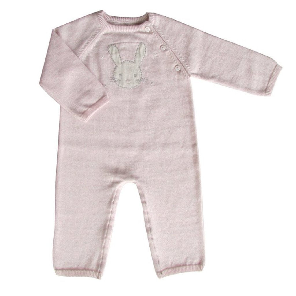 Albetta Kids one-pieces Cashmere Cotton Bunny Babygrow - Ever Simplicity