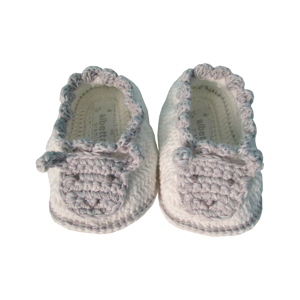 Albetta Kids accessories Crochet Sheep Booties - Ever Simplicity