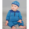 Angel Dear Kids one-pieces Fair Isle Henley Coverall - Ever Simplicity