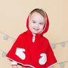 Angel Dear Kids cardigan Red Poncho - Ever Simplicity