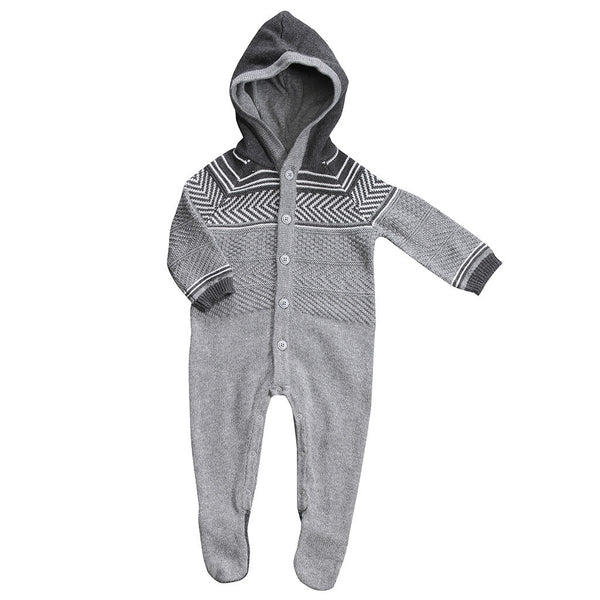 Angel Dear Kids one-pieces Big Sur Hooded Footie - Ever Simplicity