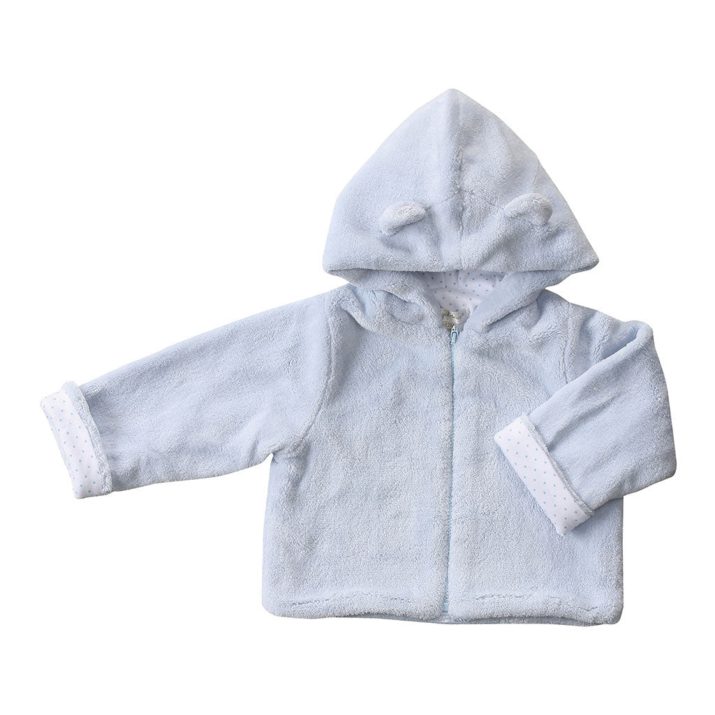 Angel Dear Kids cardigans Fuzzy Jacket-Blue - Ever Simplicity