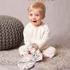 Angel Dear Kids accessories Grey Zebra Blankie - Ever Simplicity