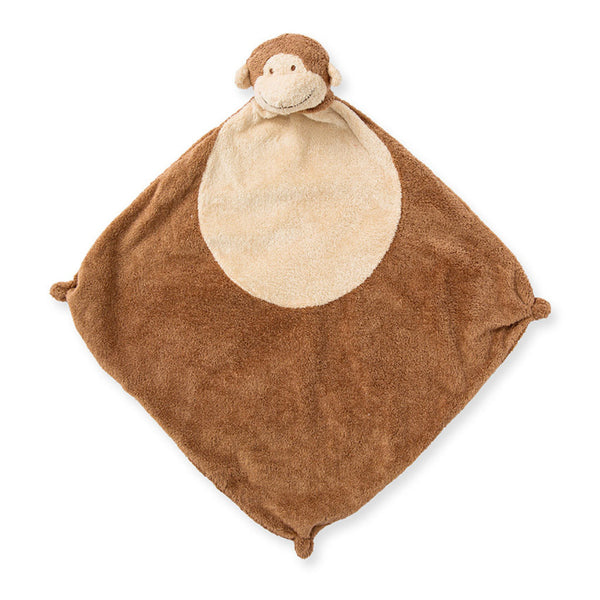 Angel Dear Monkey Blankie-Brown - Ever Simplicity - 1