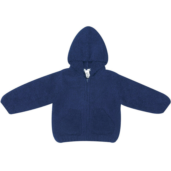 Chenille Hoodie-Navy - Ever Simplicity  - 1