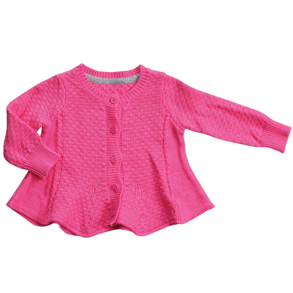 Angel Dear Kids cardigan Swing Cardigan - Pink - Ever Simplicity