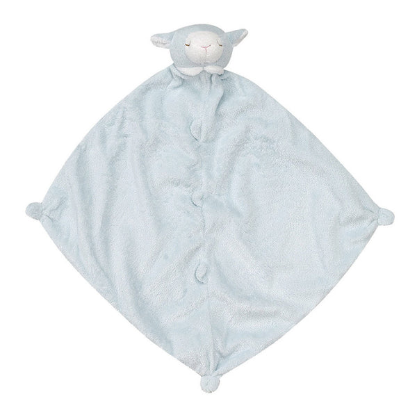 Angel Dear Kids accessories Lamb Blankie-Blue - Ever Simplicity