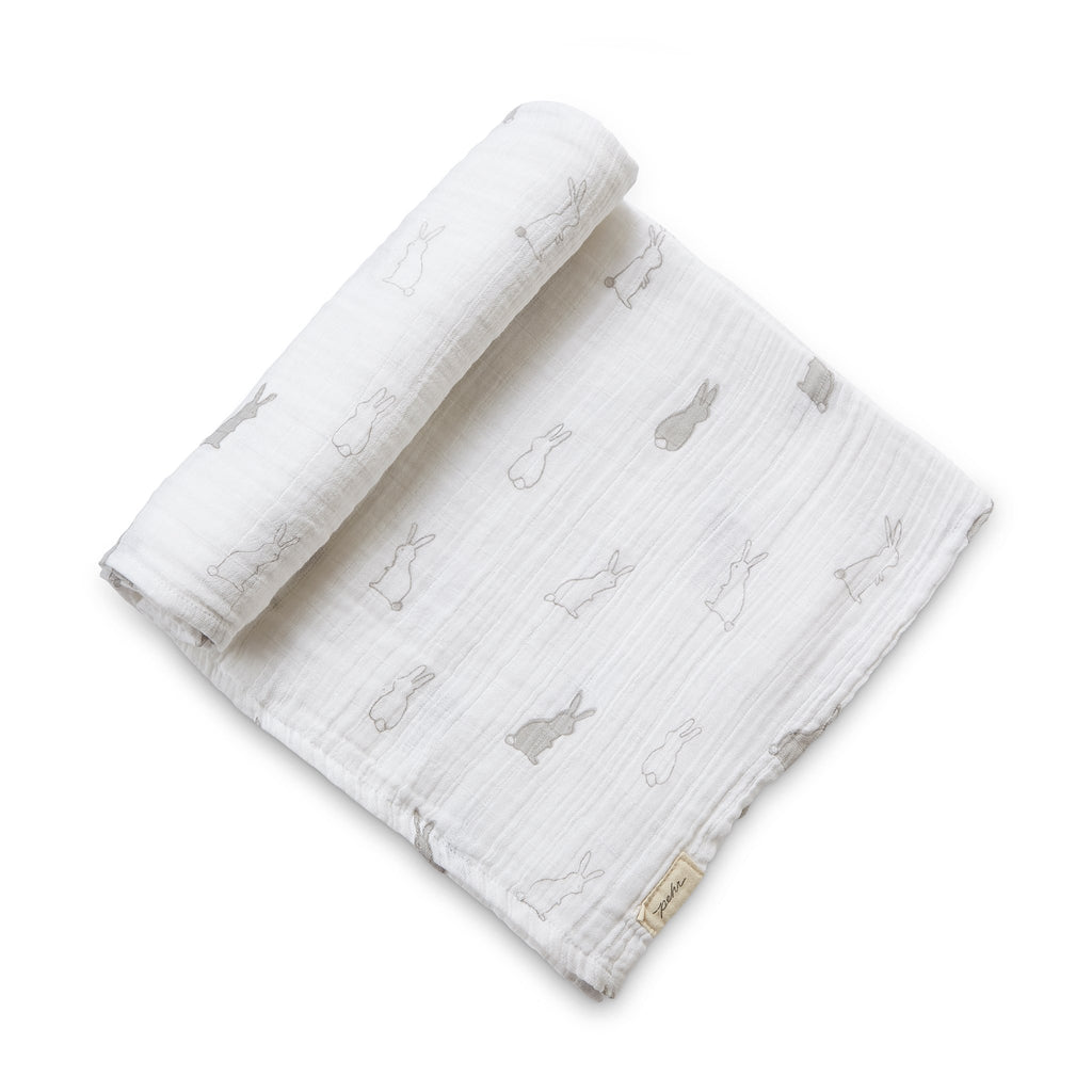 Petit Pehr Kids accessories Bunny Hop Swaddle - Ever Simplicity
