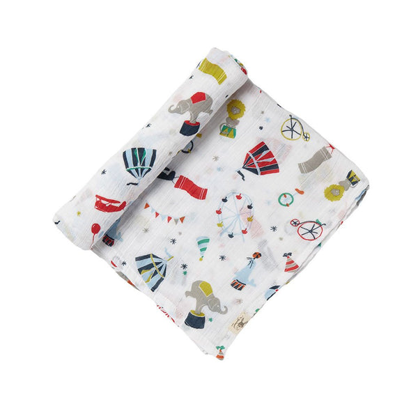 Petit Pehr Kids accessories Big Top Swaddle - Ever Simplicity