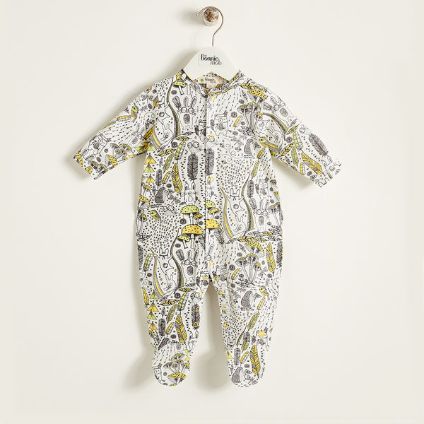 The Bonnie Mob Kids one-pieces Wilderness Footed Sleepsuit - Ever Simplicity