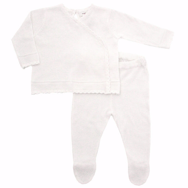 Angel Dear Baby sets Stitch Kimono Footie Set - Ever Simplicity