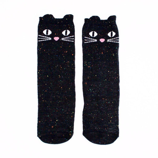 Eva & Elvin Kids accessories Cat Knee Socks - Ever Simplicity