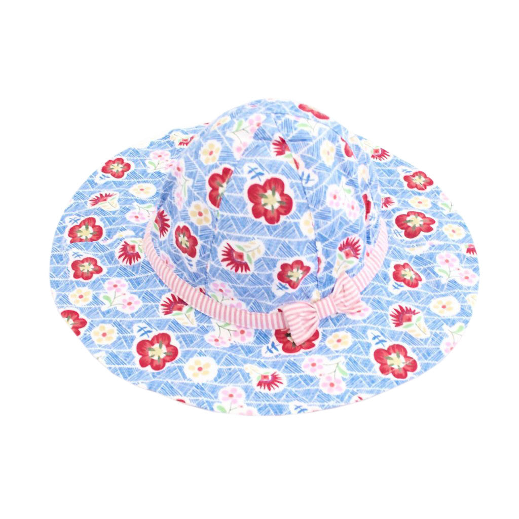JoJo Maman Bebe Kids accessories Floral Sun Hat - Ever Simplicity