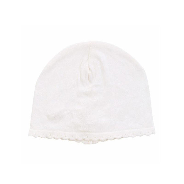 Angel Dear Baby accessories Scalloped Ivory Hat - Ever Simplicity