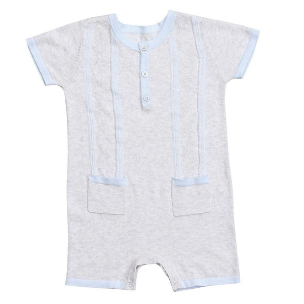Angel Dear Kids romper Golf Henley Shortie - Ever Simplicity