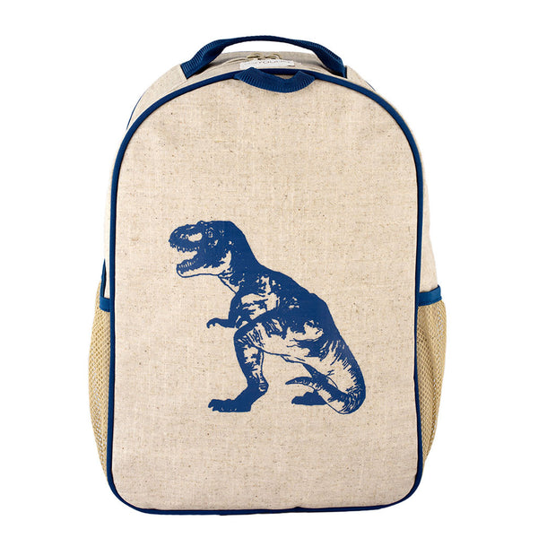 Blue Dinosaur Toddler Backpack