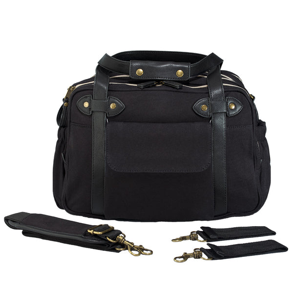 Soyoung Kids accessories Charlie Diaper Bag-Black - Ever Simplicity