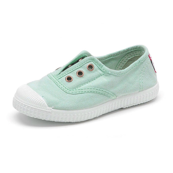Cienta Kids accessories Canvas Sneaker-Mint - Ever Simplicity