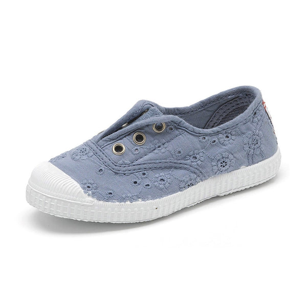 Cienta Kids accessories Lace Sneaker-Lavender - Ever Simplicity