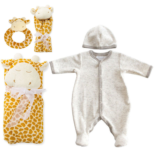 Coccoli Kids gift sets Corduroy Footie Gift Set - Ever Simplicity
