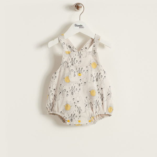 The Bonnie Mob Sunny Bunny Romper - Ever Simplicity - 1