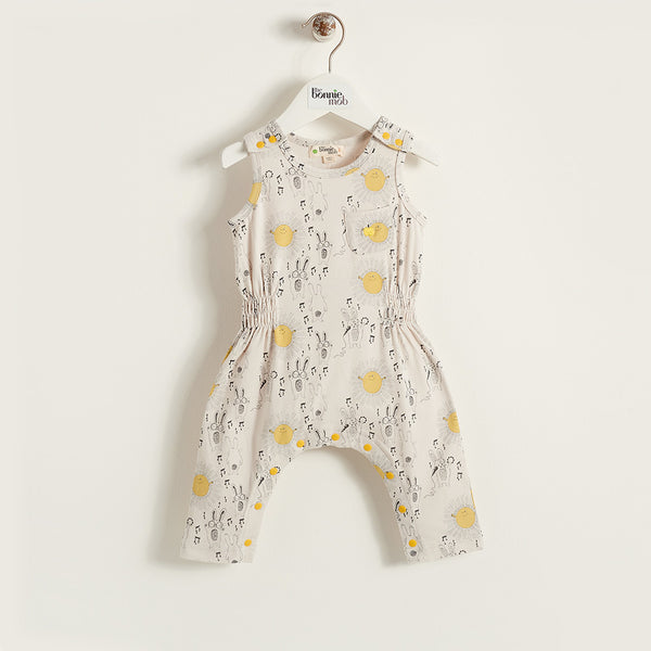 The Bonnie Mob Kids one-pieces Sunny Bunny Jumpsuit - Ever Simplicity