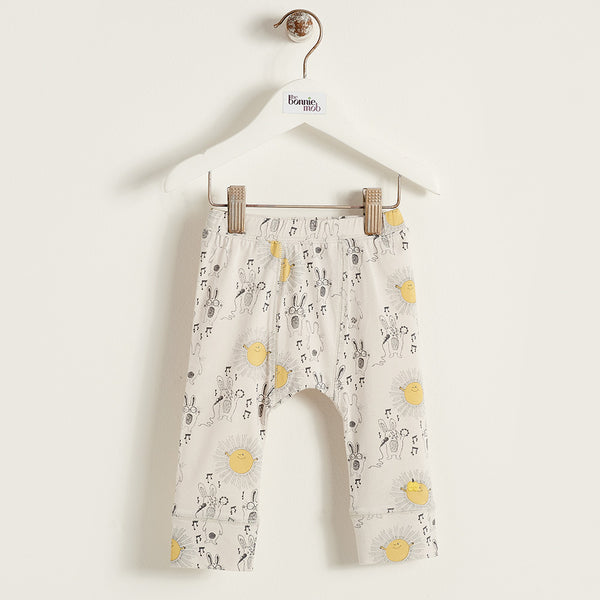 The Bonnie Mob Kids bottoms Sunny Bunny Legging - Ever Simplicity