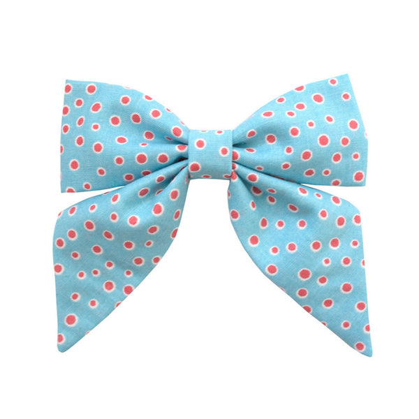 Ever Simplicity Baby accessories Dot Sailor Bow - Ever Simplicity