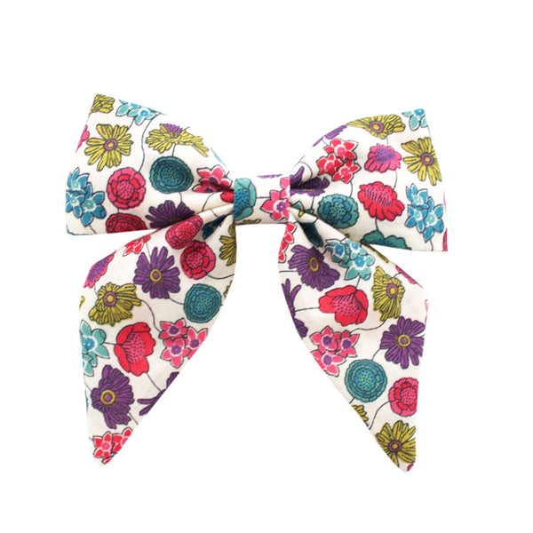 Ever Simplicity Kids accessories Liberty Floral Sailor Bow - Ever Simplicity